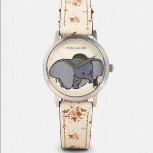 Disney X Coach Chelsea Watch With Dumbo